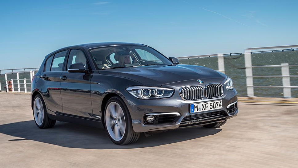 Die zweite Generation des 1er BMW wird stark beansprucht