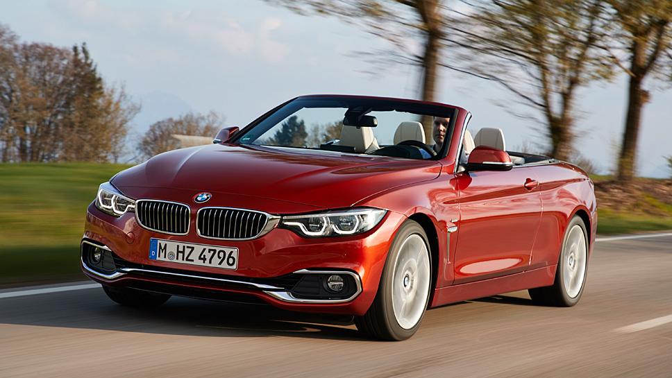 BMW hat auch das 4er Cabrio geliftet