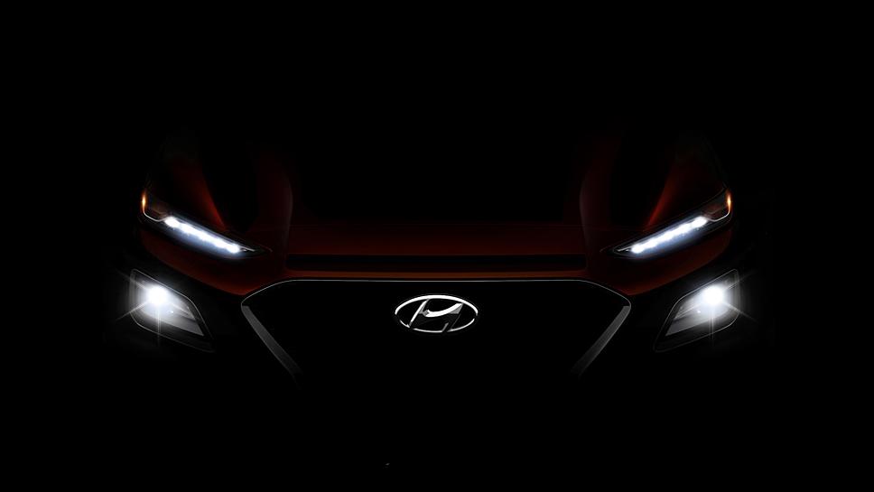 Hyundai enthüllt im Juni den Kona
