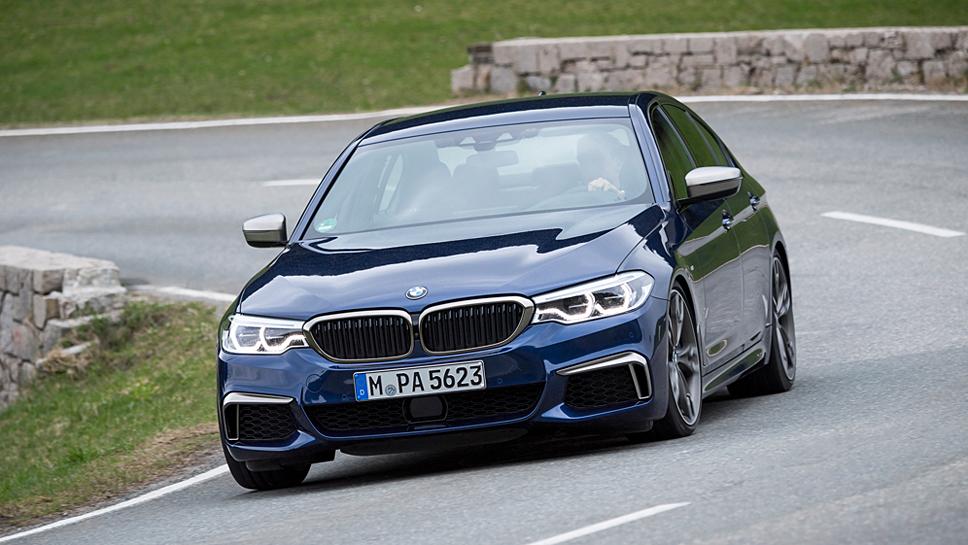 Der BMW M550 xDrive