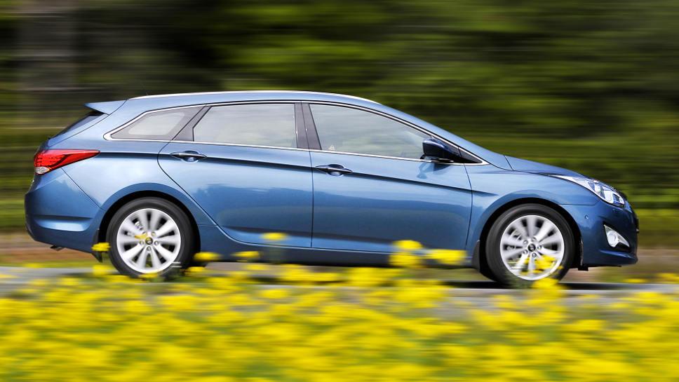 Ein Hyundai i40 war besonders günstig zu bekommen.