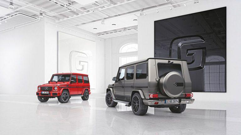 Mercedes läutet Generationswechsel der G-Klasse ein