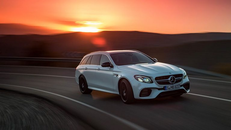 Mercedes-AMG drillt auch E-Klasse Kombi