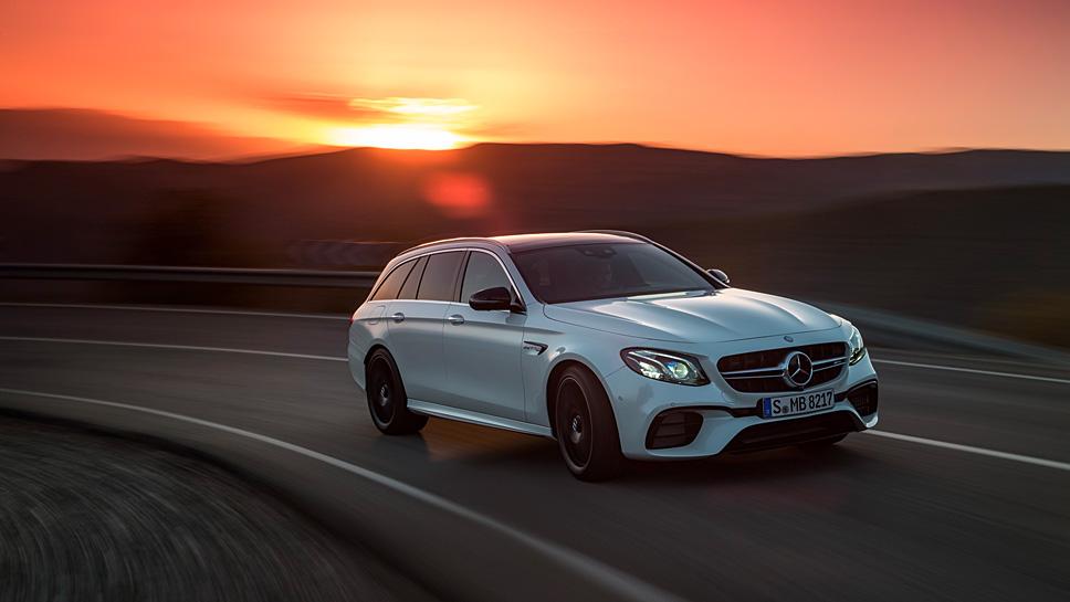Mercedes-AMG stattet das E 63 T-Modell mit bis zu 612 PS aus