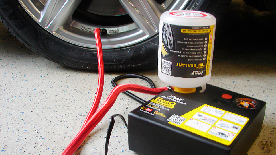 Nicht alle Reifenpannen-Reparatursets können überzeugen