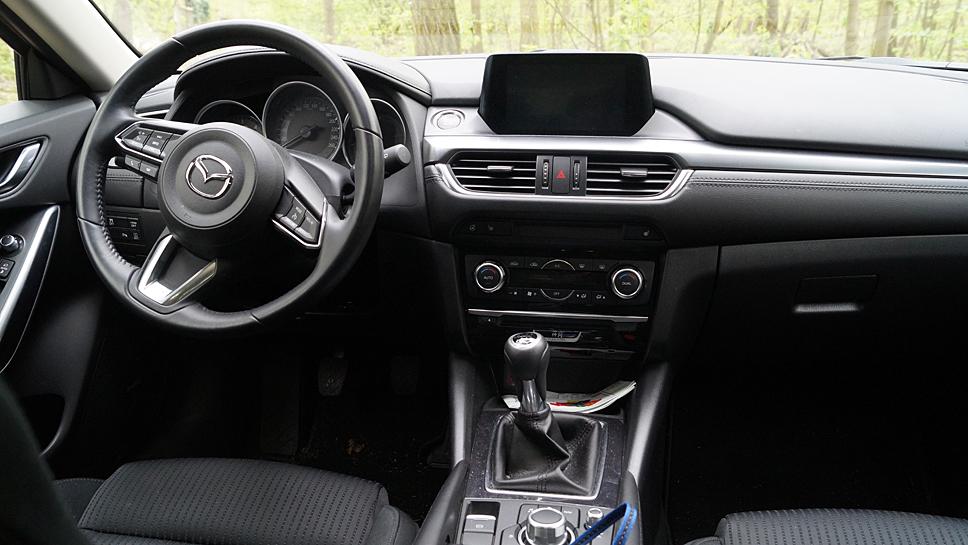 Der Innenraum des Mazda6. Foto: Mazda