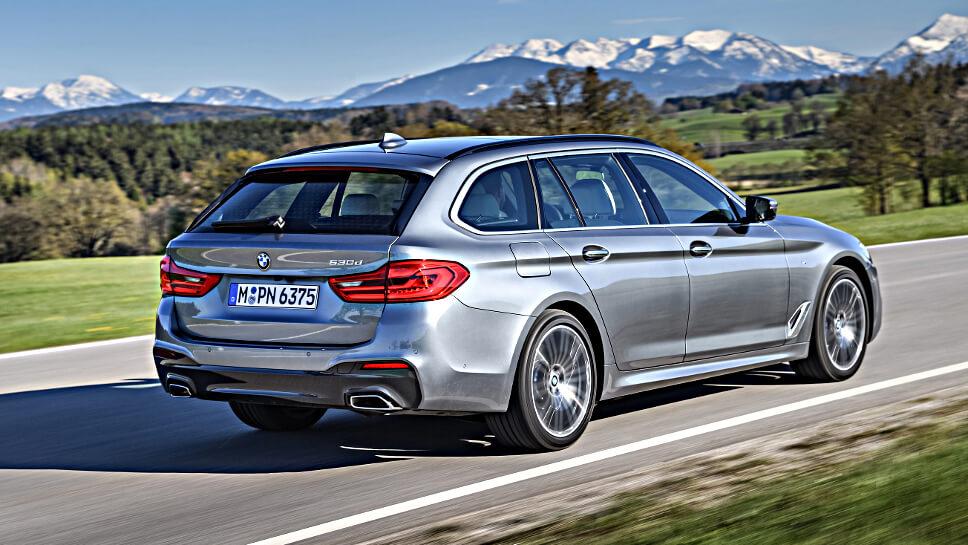 BMW 530d Touring Bayerischer überflieger Autogazette
