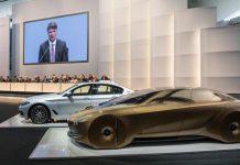 BMW-Chef Harald Krüger auf der Hauptversammlung.