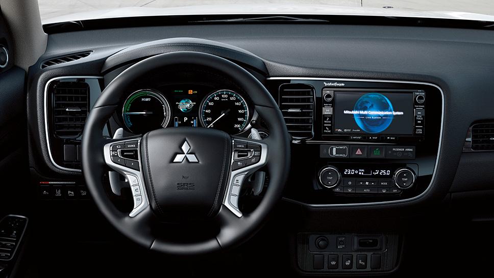 Mit dem Mitsubishi Outlander PHEV geht es elektrisch ins Gelände