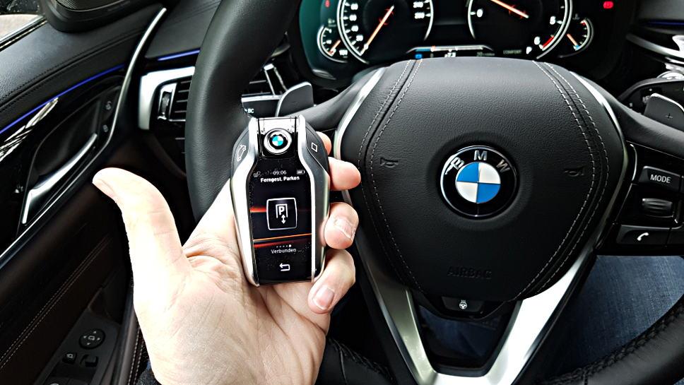 So schaut der Display-Schlüssel des BMW 5ers aus.