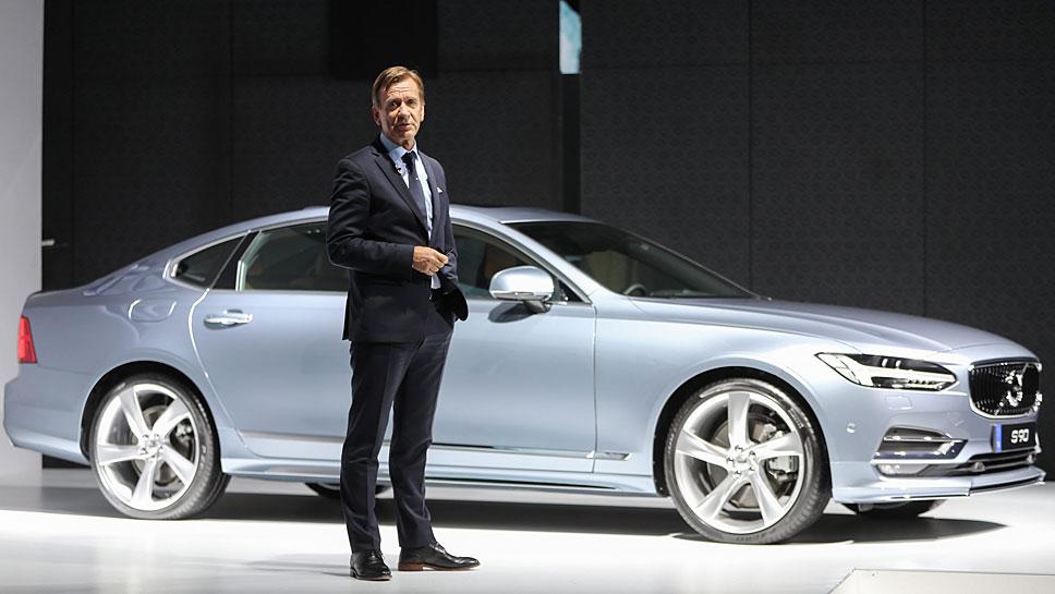 Volvo-Chef Hakan Samuelsson