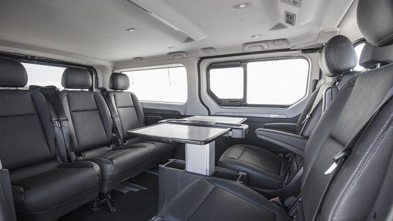 Renault Trafic Spaceclass avanciert zum rollenden Konferenzraum