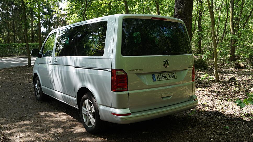 Der VW T6 Multivan bietet Platz und Wohlfühlatmosphäre