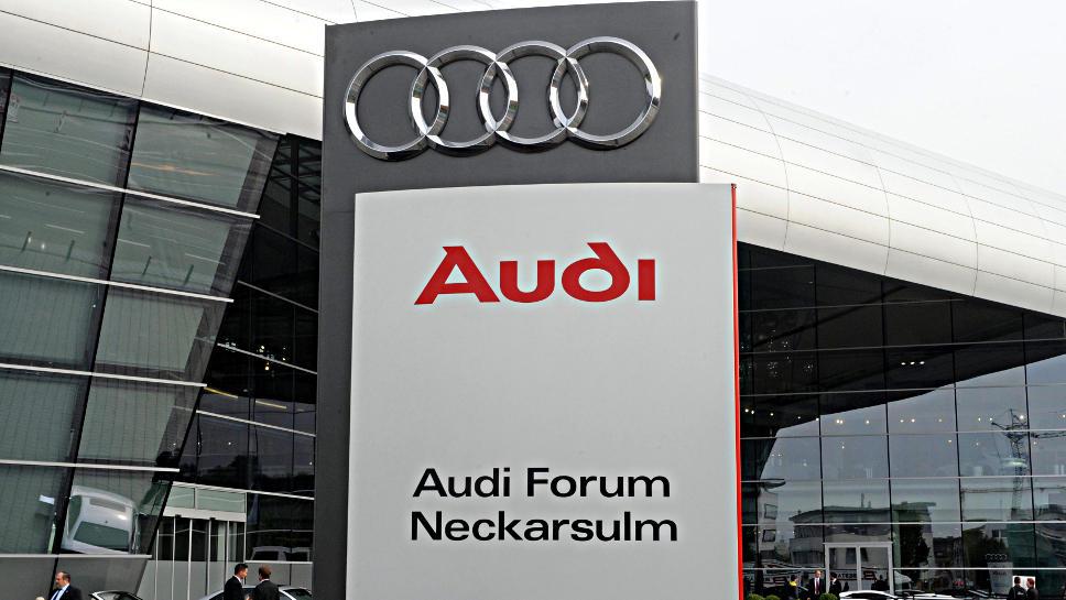 In Neckarsulm findet die Audi-Hauptversammlung statt.