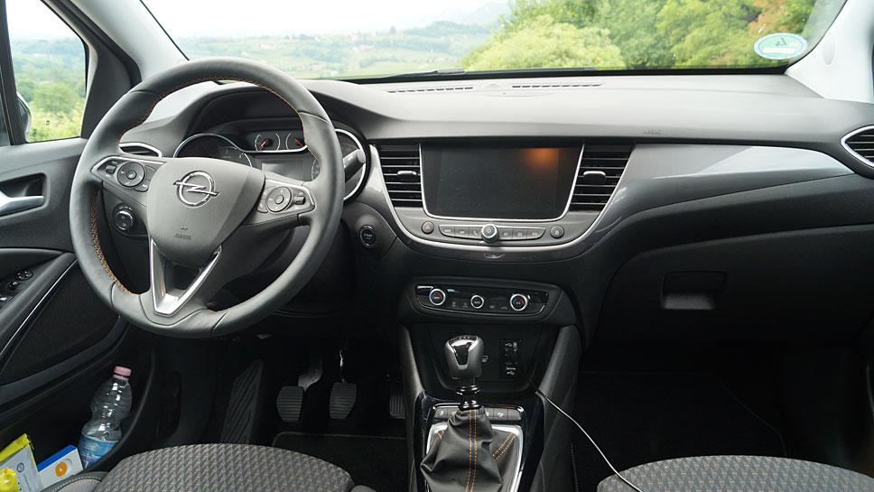 Der Opel Crossland X tritt an die Stelle des Meriva