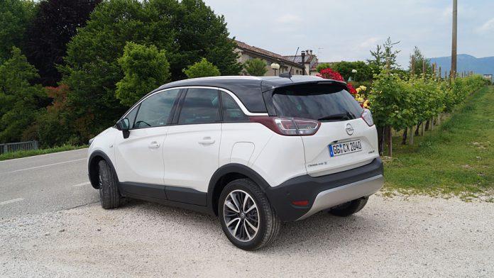Opel führt den Crossland X am Samstag in den Markt ein