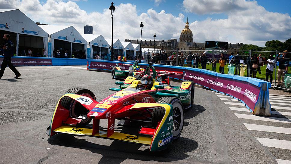 Berlin ist am Wochenende Austragungsort der Formel E.