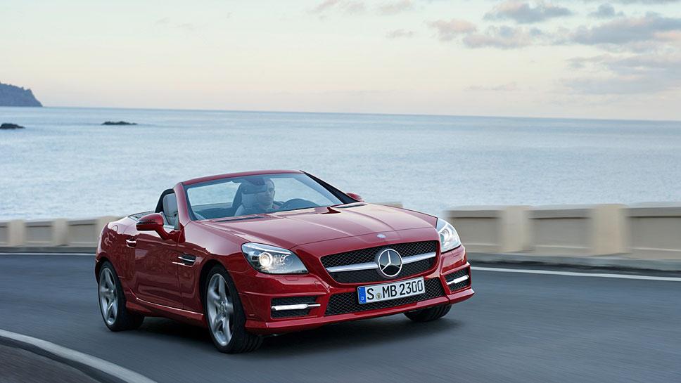 Der Mercedes SLK (R 172) ist der beste Pkw unter den Vier- bis Fünfjährigen