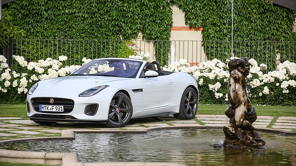 Für ein Jahr gibt es den Jaguar F-Type als 400 Sport