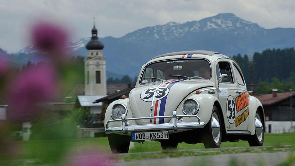 Der VW Käfer in der Film-Ausführung als Herbie