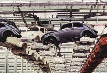 Produktion des VW Käfer in Wolfsburg