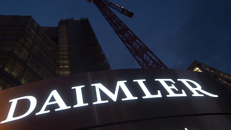 Daimler stellt sich neu auf