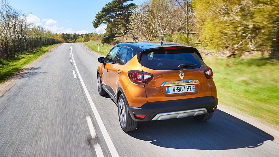 Renault hat den Captur nur optisch aufgefrischt