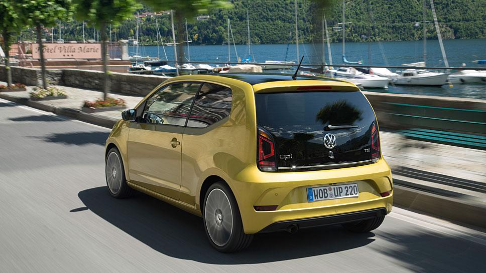 Der VW Up bietet trotz seiner Kürze viel Platz