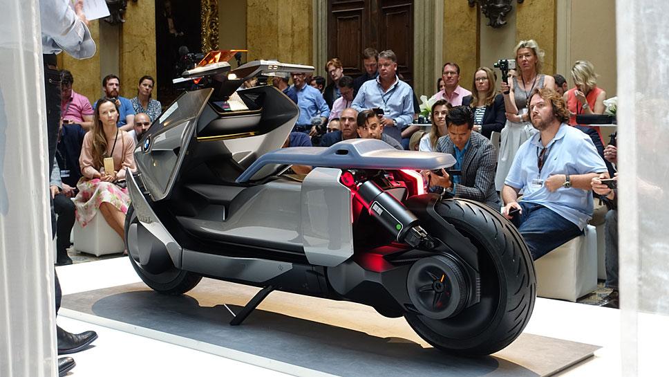 Die BMW-Studie Concept Link soll in rund drei Jahren Serienreife erhalten