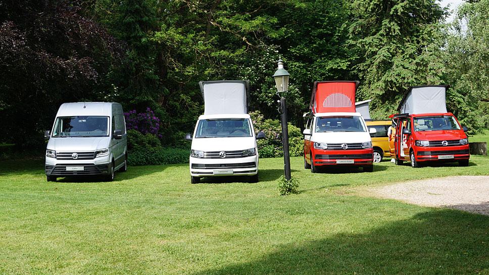 Rund 13.000 Reisemobile hat VW Nutzfahrzeuge im letzten Jahr verkauft