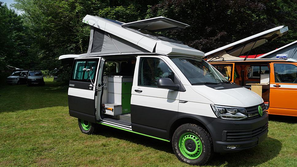 Der Terra Camper gibt sich sehr praktisch für alle Bedürfnisse