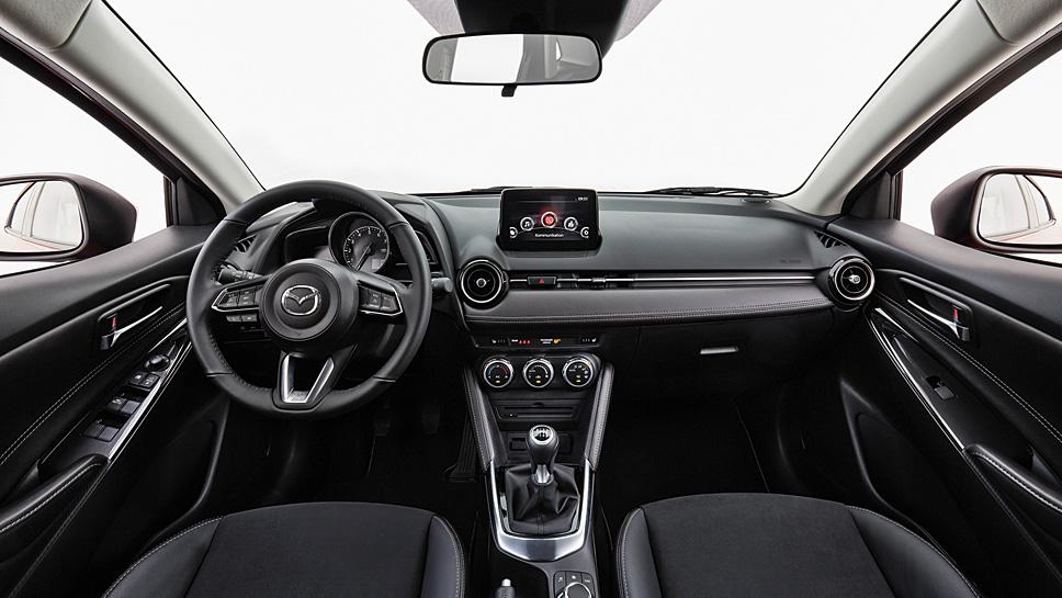 Optische blieben Mazda2 und CX-3 unverändert