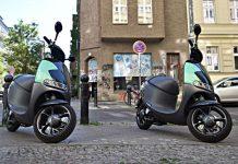 E-Scooter in der Stadt immer beliebter.