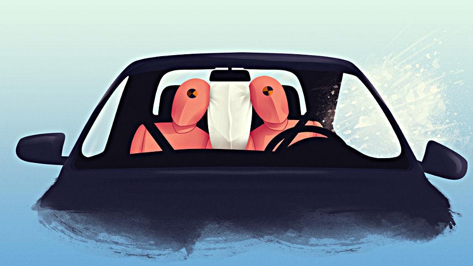 Der Center Airbag von ZF