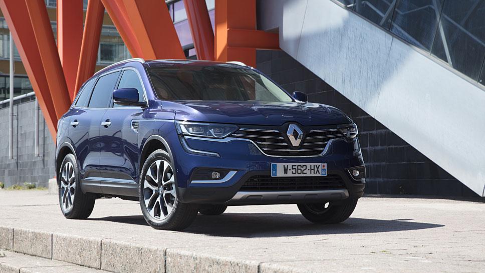 Der neue Renault Koleos verfügt über höhere Erfolgschancen