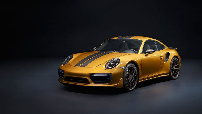 Porsche vergoldet 911 Turbo S exklusiv