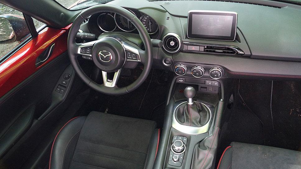 Mazda setzt beim MX-5 RF erstmals ein vollautomatisches Dach ein