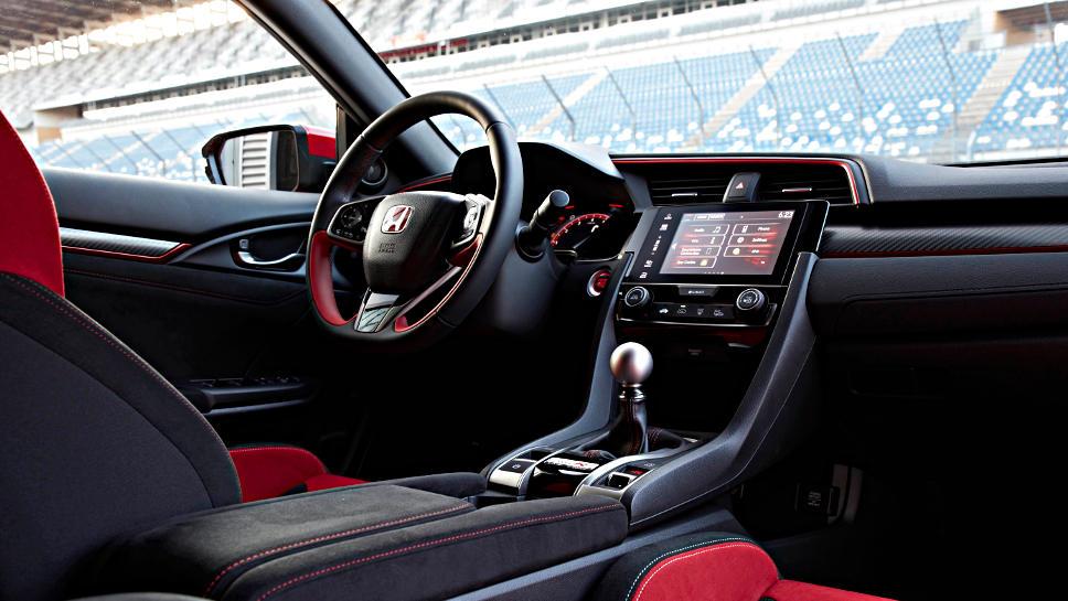 Innenraum des Honda Civic Type R