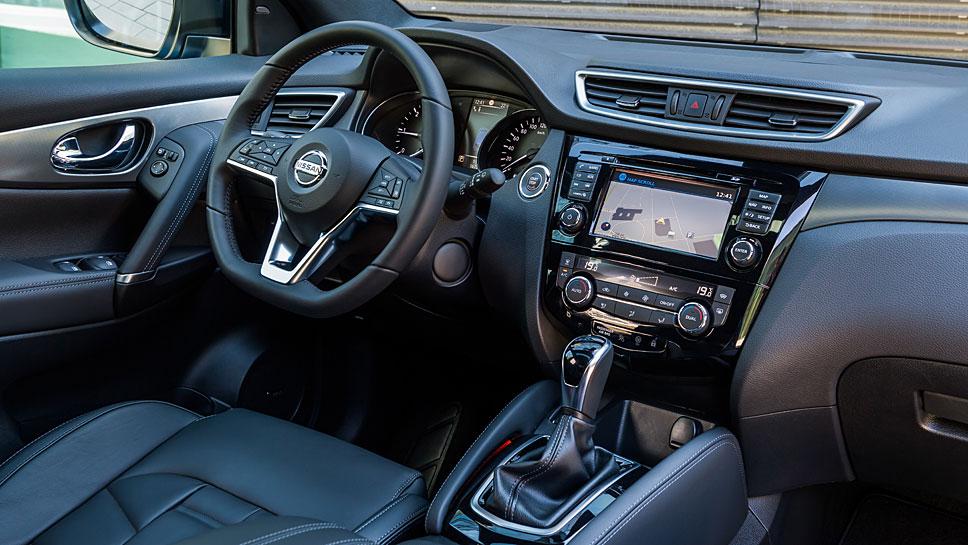 Nissan hat dem Qashqai ein neues Aussehen verliehen