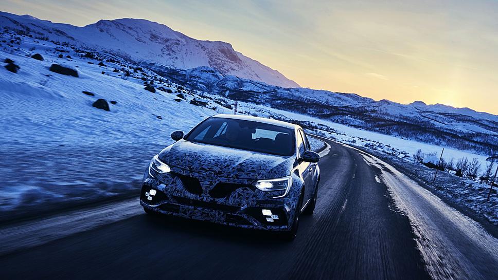 Der Renault Mégane R.S. kommt im ersten Quartal 2018 auf den Markt