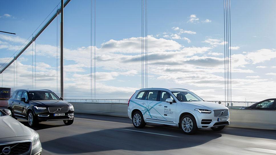 Volvo ist mit dem XC90 schon autonom rund um Göteborg unterwegs