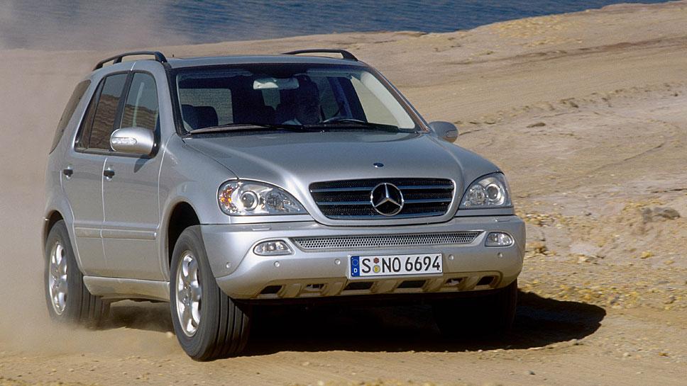 Der Mercedes ML war besonders in jungen Jahren sehr Mängel behaftet