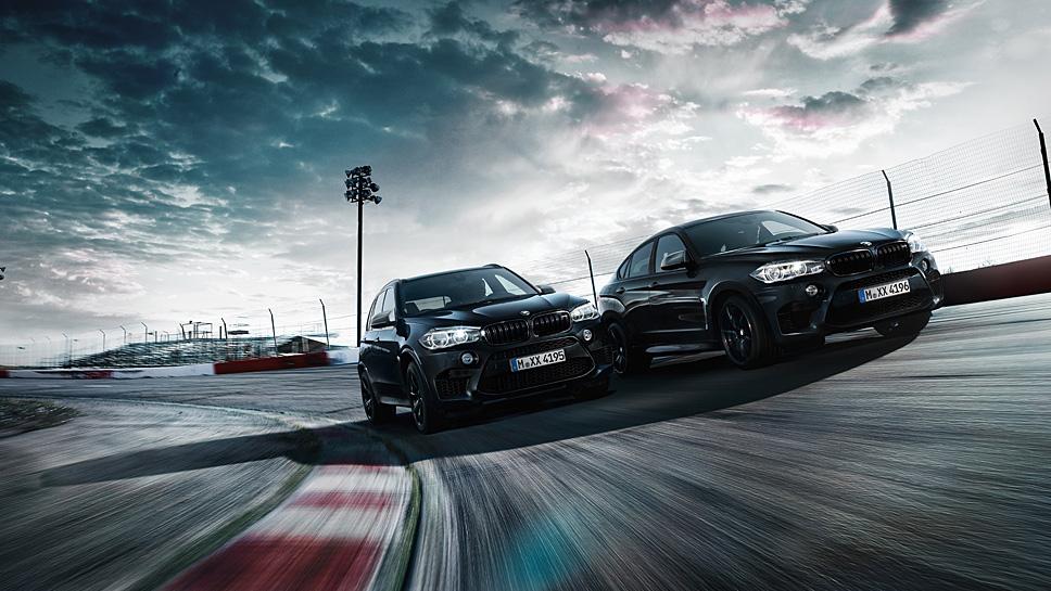 BMW X5M und X6M als Black Fire-Sondermodelle