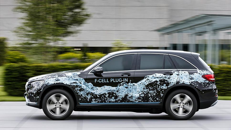 Daimler hat für das kommende Jahr ein Wasserstoffauto angekündigt