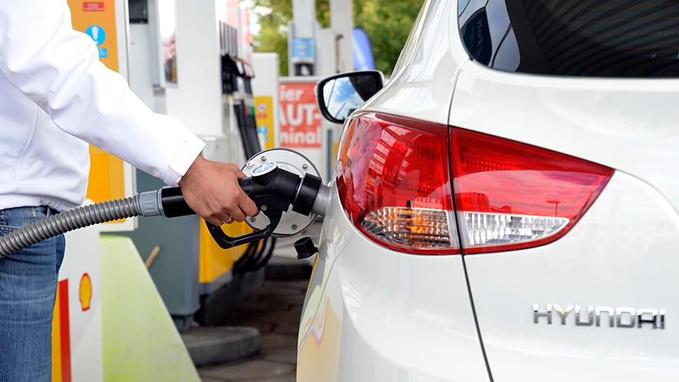 Hyundai brachte das erste Wasserstofffahrzeug in Serie auf den Markt
