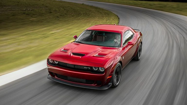 Dodge Challenger Hellcat geht in die Breite