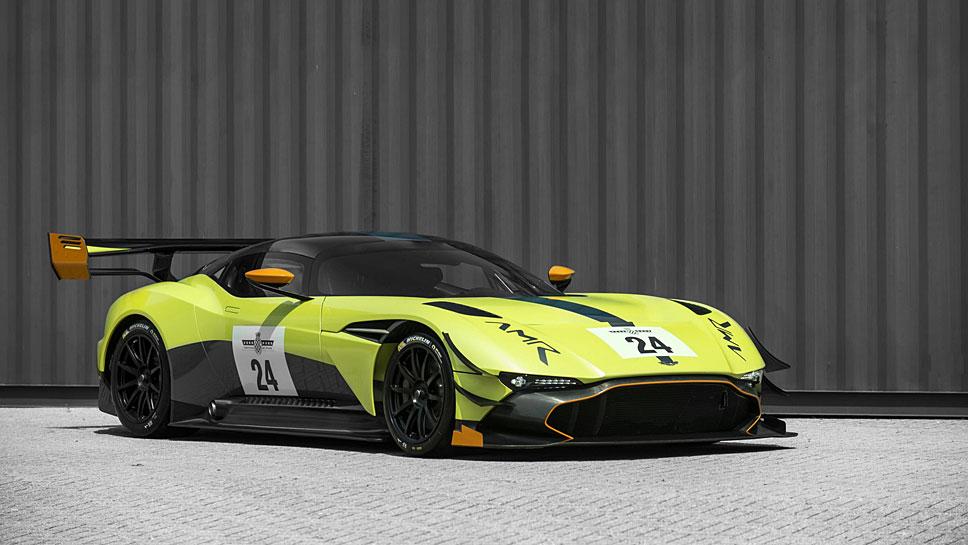 Aston Martin veredelt den Vulcan