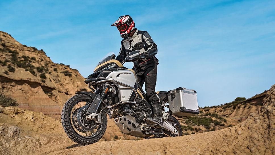 Die Ducati Multistrada 1200 Enduro Pro kennt kaum Hindernisse