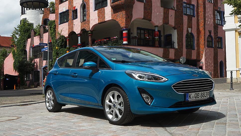 Ford führt den Fiesta in die achte Generation