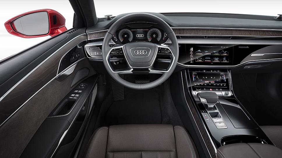 Audi hat Premiere mit dem neuen A8 gefeiert